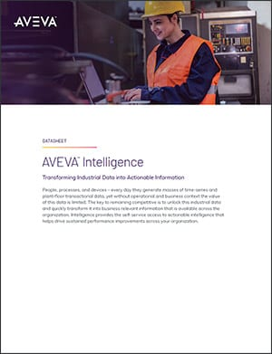 AVEVA Business Intelligence Gateway Datasheet