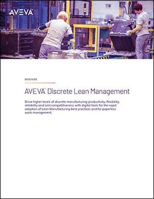 AVEVA Discrete Lean Management Brochure