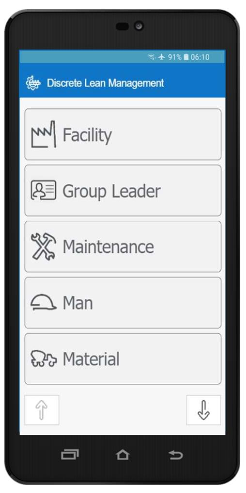 AVEVA Discrete Lean Management Mobile