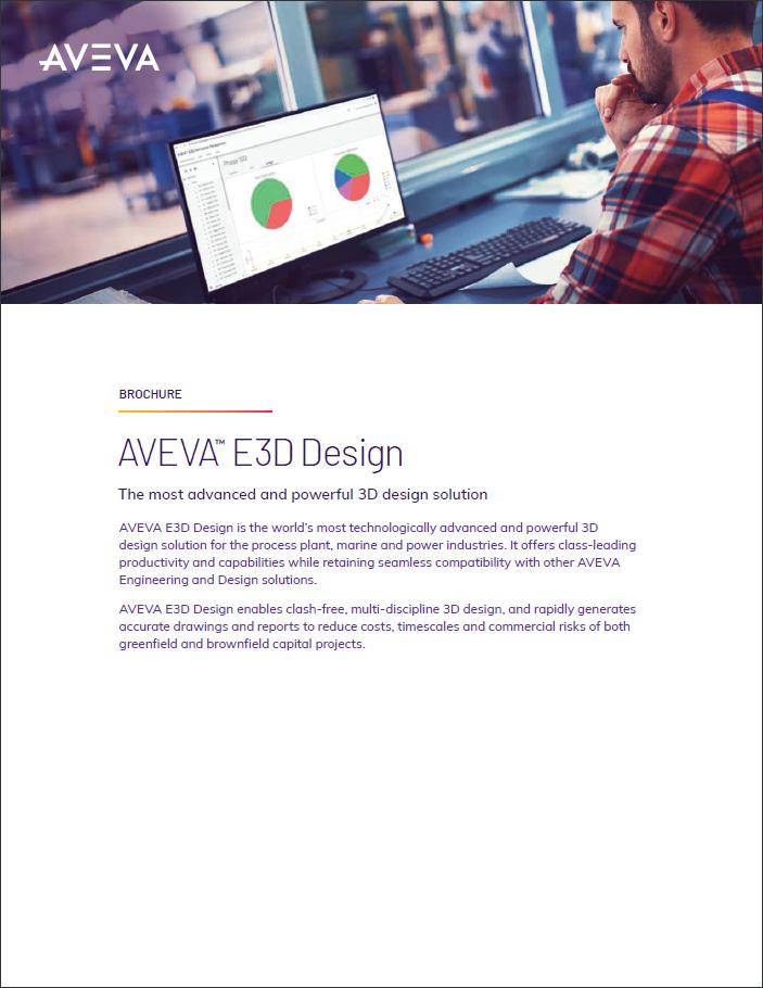 E3D Design Brochure
