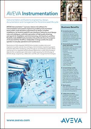 AVEVA Instrumentation Brochure