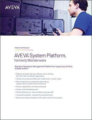 AVEVA System Platform Brochure