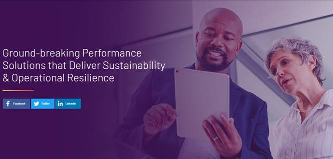 Ground-breaking Performance Solutions that Deliver Sustainability & Operational Resilience