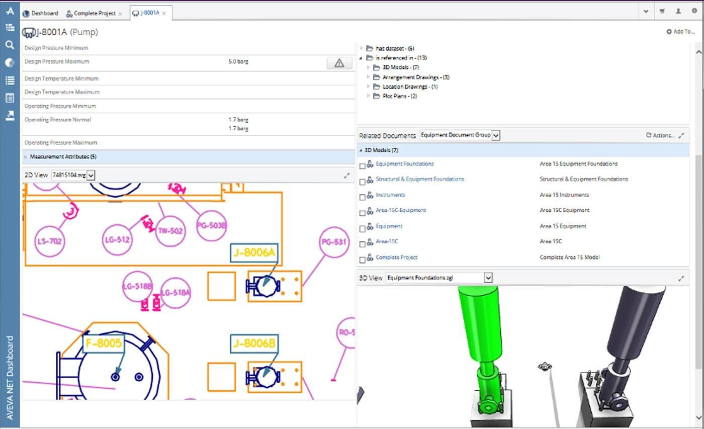 AVEVA Asset Information Management Equipment Profile