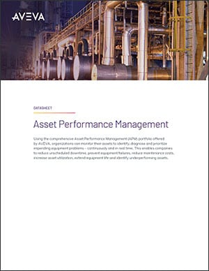 Asset Performance Management Datasheet