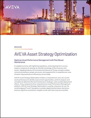 Asset Strategy Optimization Brochure
