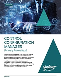 AVEVA Control Configuration Manager Brochure