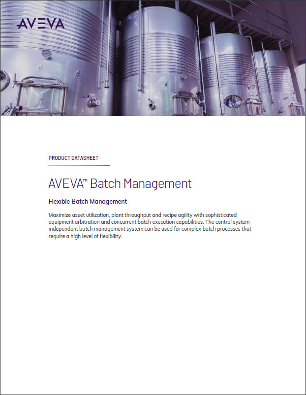 AVEVA Batch Management