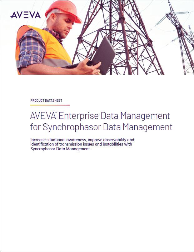 AVEVA Enterprise Data Management for Synchrophasor