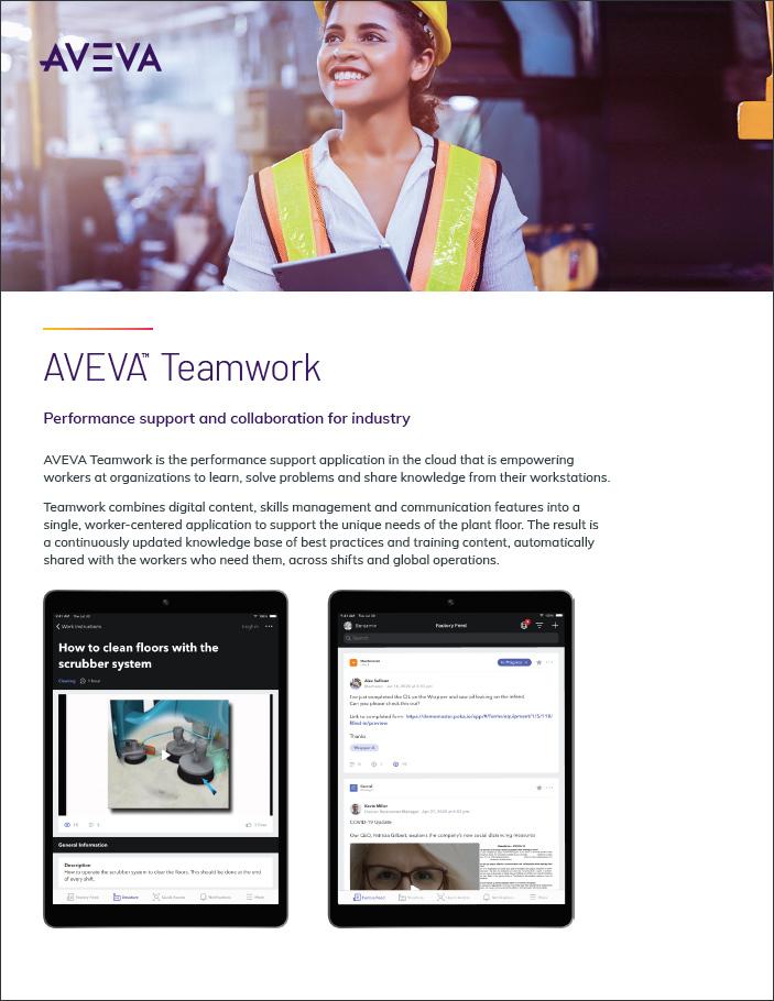 AVEVA Teamwork brochure