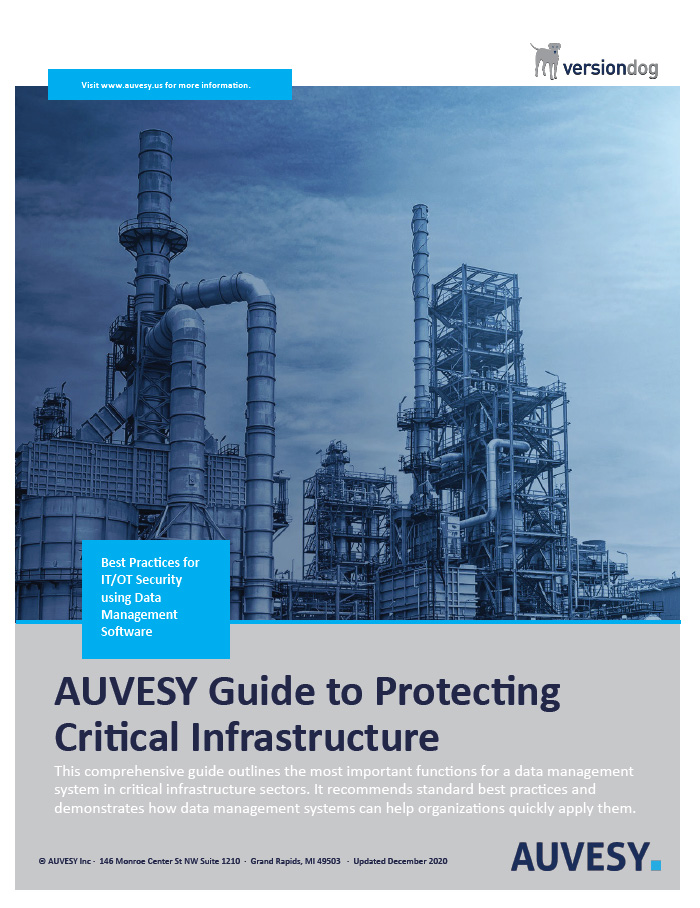 Auvesy Guide to Protecting Critical Infrastructure