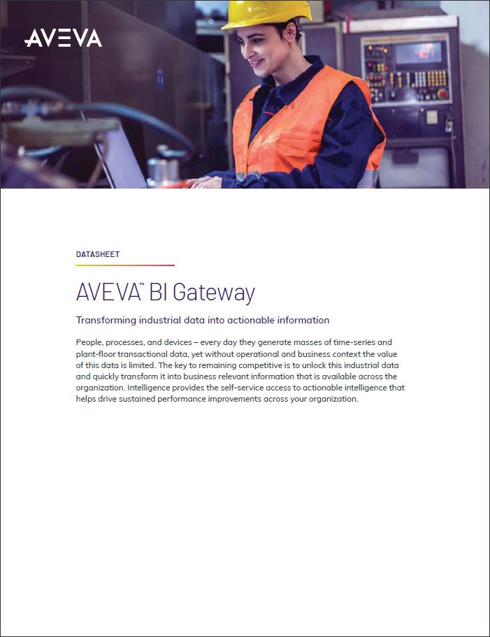 AVEVA Business Intelligence Gateway