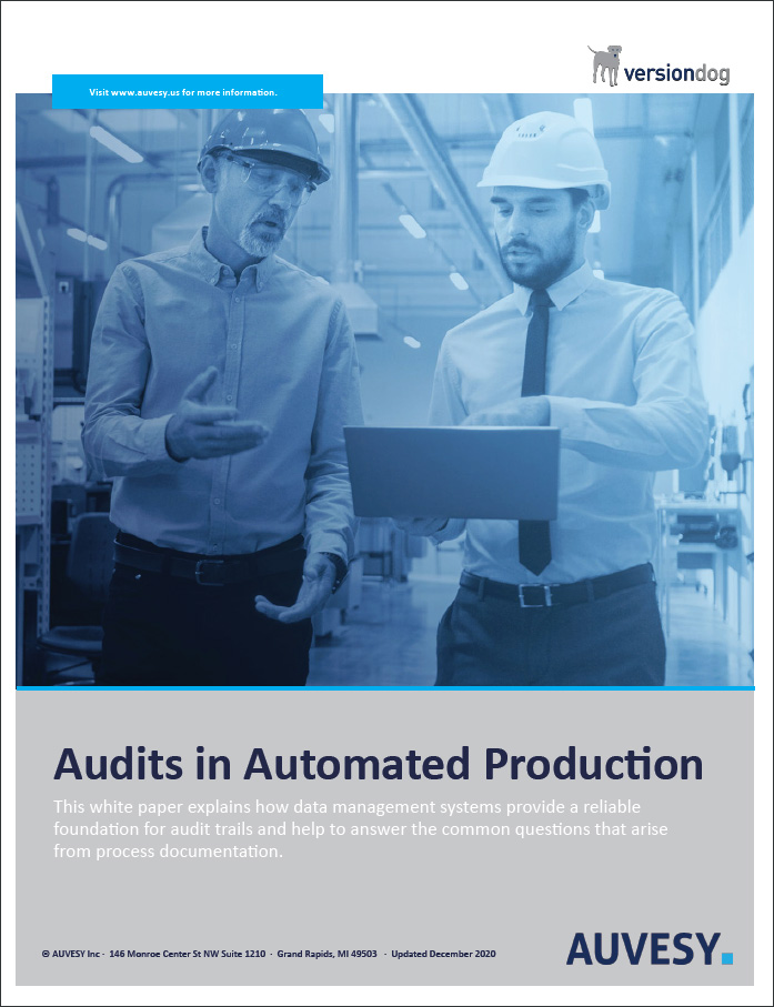 audits in automated production