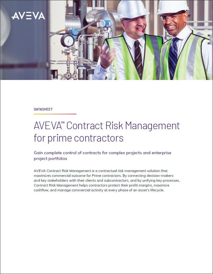 AVEVA Contract Risk Management