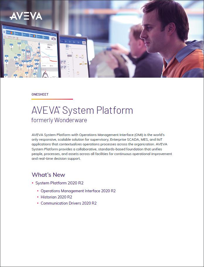 System Platform 2020 R2 What's New