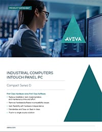 AVEVA InTouch Panel Compact Series D Datasheet