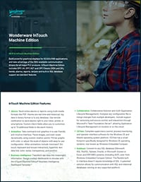 InTouch Machine Edition Datasheet