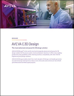 AVEVA E3D Design Brochure