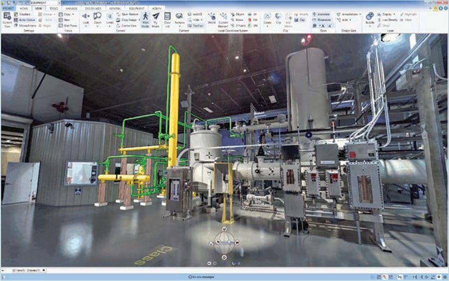 AVEVA E3D Design Laser Data