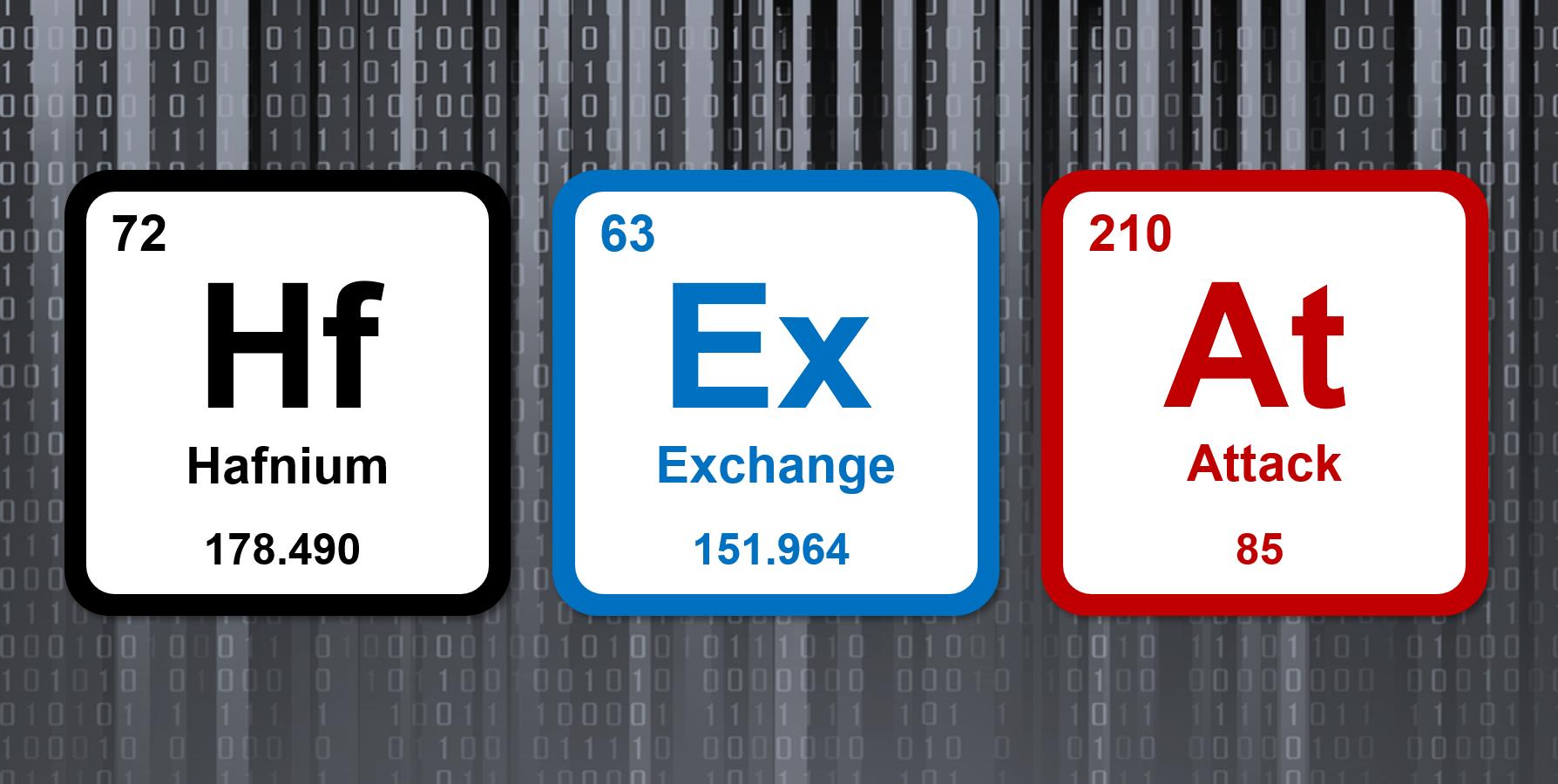 Hafnium & Exchange: Elements of the Attack