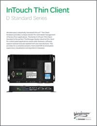 InTouch Thin Client Datasheet