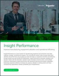 Insight Performance OneSheet