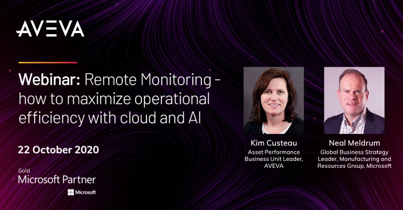 Remote Monitoring Keep your operations running safely with cloud and AI