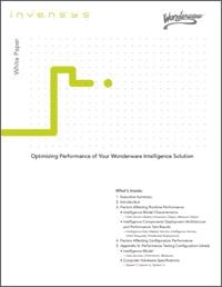 WhitePaper Optimizing Performance Intelligence