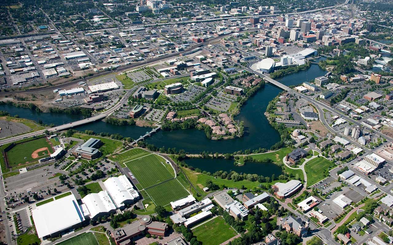 City of Spokane Customer Story Aerial