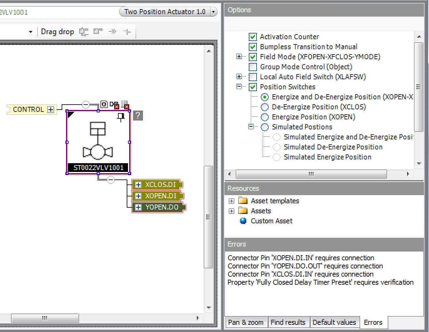 AVEVA Control Configuration Manager Screenshot