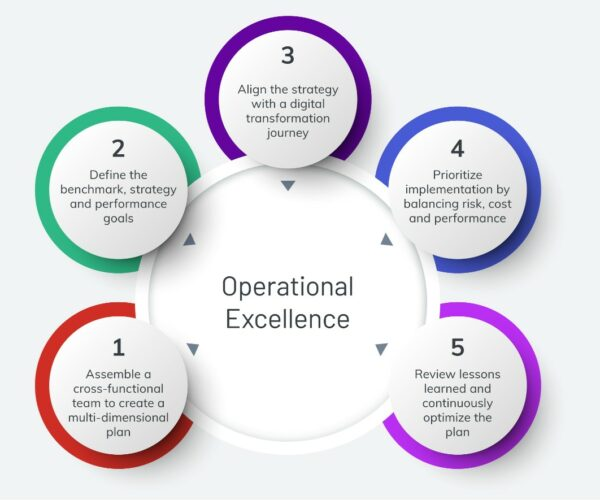defining and executing an operational excellence plan